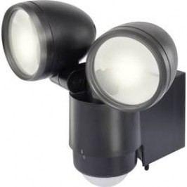 Venkovní LED reflektor s PIR detektorem Renkforce Cadiz, 1432725, denní světlo, 10 W, černá