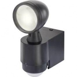Venkovní LED reflektor s PIR detektorem Renkforce Cadiz 1433330, 7.5 W, neutrálně bílá, černá