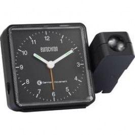 Projekční hodiny Eurochron černá