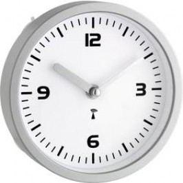 DCF nástěnné hodiny TFA 60.3502, Vnější Ø 16.5 cm, stříbrná