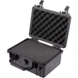 Voděodolný kufr Basetech, (d x š x v) 240 x 195 x 112 mm, černá