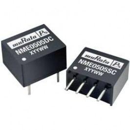DC/DC měnič Murata Power Solutions NME0524SC, SIP, 42 mA, 5 V/DC / 24 V/DC, 1 W, 80 %