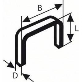 Sponka do sponkovače typ 53, 11,4 x 0,74 x 4 mm, 1000 ks