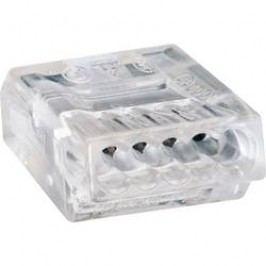 Svorka Wago, 273-155, 0,75 - 1,5 mm², 5pólová, transparentní