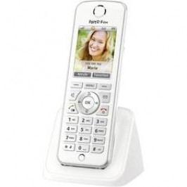 Bezdrátový VoIP telefon AVM FRITZ!Fon C4 für FRITZ!Box, bílá, stříbrná