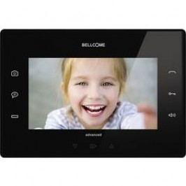 Kabelový domovní video telefon Bellcome Advanced VTA.7S902.BLB, černá