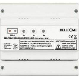 Kabelový domovní video telefon Bellcome För Video-enhet SCU.VDR02.BLW, bílá
