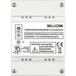 Kabelový domovní telefon Bellcome för tal-enhet SCU.ADN02.BLW, bílá