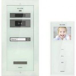 Kabelový domovní video telefon Bellcome Standard KIT.VPT.1F002.BLW, bílá