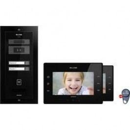 Kabelový domovní video telefon Bellcome Avdanced KIT.VPA.2FR02.BLB, černá