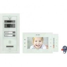Kabelový domovní video telefon Bellcome Avdanced KIT.VPA.2FR02.BLW, bílá