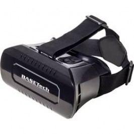 3D brýle pro virtuální realitu Basetech VR Pro, černá