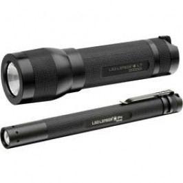 LED kapesní svítilna Ledlenser L7 i P4, sada, černá