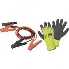 Sada startovacích kabelů + zimní rukavice