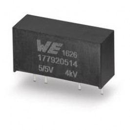 DC/DC měnič napětí do DPS Würth Elektronik 177920514, 5 V, 5 V, 0.2 A, 1 W, počet výstupů 1 x