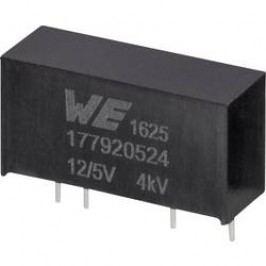 DC/DC měnič napětí do DPS Würth Elektronik 177920524, 12 V, 5 V, 0.2 A, 1 W, počet výstupů 1 x