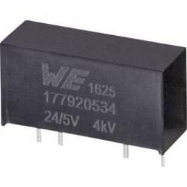 DC/DC měnič napětí do DPS Würth Elektronik 177920534, 24 V, 5 V, 0.2 A, 1 W, počet výstupů 1 x
