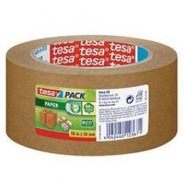 Balicí lepicí páska tesa 57180-00-02 57180-00000-01, (d x š) 50 m x 50 mm, hnědá, 1 role