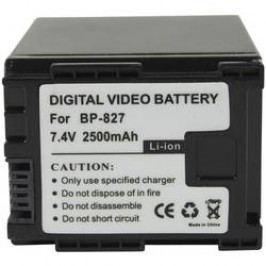 Náhradní baterie pro kamery Conrad Energy BP-827, 7,4 V, 2100 mAh