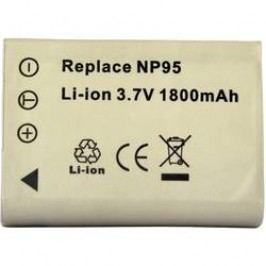 Náhradní baterie pro kamery Conrad Energy NP-95, 3,7 V, 1500 mAh