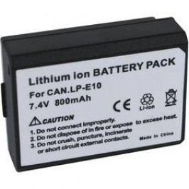 Náhradní baterie pro kamery Conrad Energy LP-E10, 7,4 V, 800 mAh