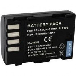 Náhradní baterie pro kamery Conrad Energy DMW-BLF19, 7,2 V, 1500 mAh