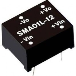 DC/DC měnič MeanWell SMA01L-15, 15 V/DC 67 mA, 1 W