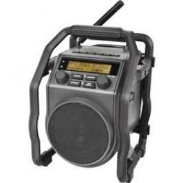 DAB+ outdoorové rádio s akumulátorem PerfectPro UBOX 400R, AUX, DAB+, FM, Bluetooth, černá