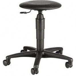 Pracovní stolička Topstar TEC 60 s 5 kolečky, černá