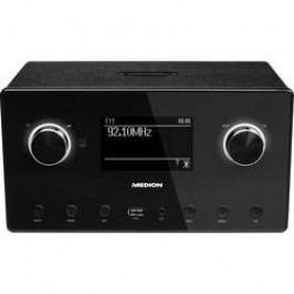 Internetové stolní rádio Medion P85080 (MD87523), Wi-Fi, Bluetooth®, UKW, černá