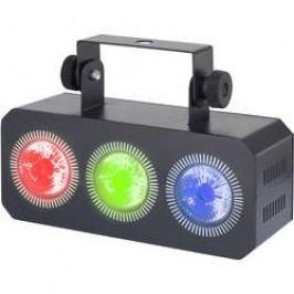 LED reflektorová lišta Renkforce Mini Party Bar RGB Wash, 3 x 3 W LED