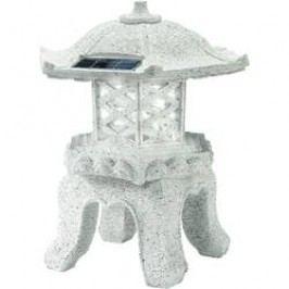 LED solární dekorativní osvětlení FIAP Yukimi 2750, šedá, studená bílá
