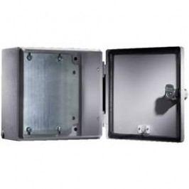 Instalační krabička Rittal E-Box 1553.500, 150 x 150 x 120 mm, ocelový plech, světle šedá , 1 ks