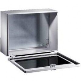 Instalační krabička Rittal BG 1577.450, 400 x 300 x 155 mm, ocelový plech, světle šedá , 1 ks