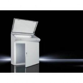 Ovládací pult Rittal TP 6740.500, 1000 x 960 mm, ocelový plech, světle šedá , 1 ks