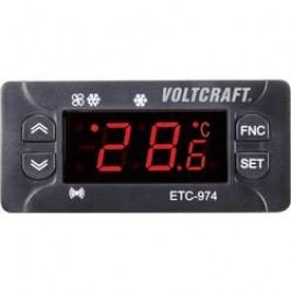 Termostat VOLTCRAFT ETC-974, typ senzoru NTC, PTC, -50 až 140 °C, relé 10 A