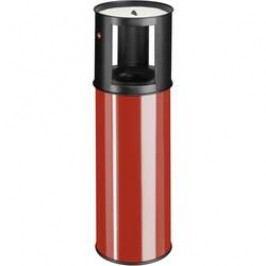 N/A s popelníkem Hailo ProfiLine care L, 800 mm, Ø 260 mm, 25 l, červená