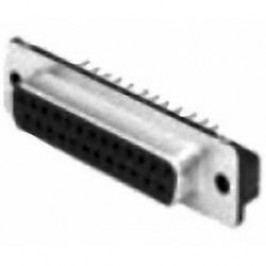 D-SUB zásuvková lišta TE Connectivity AMPLIMITE HD-20, 180 °, pólů 9, do DPS, 1 ks