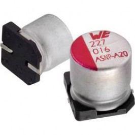 Elektrolytický kondenzátor Würth Elektronik WCAP-AS5H 865230357008, SMD, 470 µF, 16 V, 20 %, 1 ks