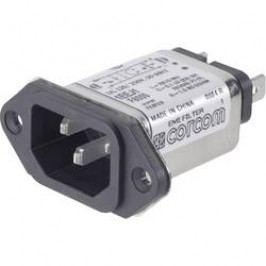 Síťový filtr TE Connectivity, 6609006-6, 2 x 1,5 mH, 250 V/AC, 3 A