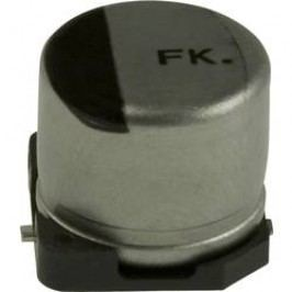 Elektrolytický kondenzátor Panasonic EEE-FK1E330AP, SMD, 33 µF, 25 V, 20 %, 1 ks