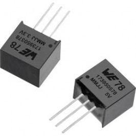 DC/DC měnič napětí, SMD Würth Elektronik 173950378, 3.3 V/DC, 0.5 A, Počet výstupů 1 x