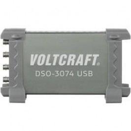 USB osciloskop VOLTCRAFT DSO-3074, 70 MHz, 4kanálový