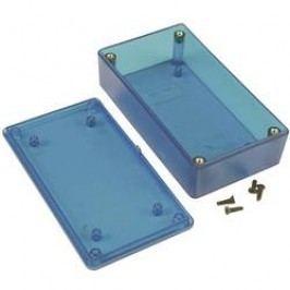 Univerzální pouzdro Hammond Electronics 1591XXBTBU 1591XXBTBU, 113 x 63 x 31 , ABS, modrá (transparentní), 1 ks