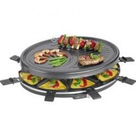Raclette gril Clatronic RG 3517, 8 pánví, černá