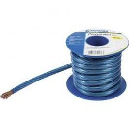 Zemnicí kabel Conrad Components 1 x 4 mm², vnější Ø 5 mm, modrá, 5 m