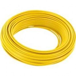 Lanko/ licna BELI-BECO 1 x 0.14 mm², vnější Ø 2.70 mm, žlutá, 10 m