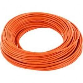 Spojovací drát BELI-BECO 1 x 0.20 mm², vnější Ø 0.50 mm, oranžová, 10 m