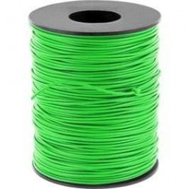 Spojovací drát BELI-BECO 1 x 0.20 mm², vnější Ø 0.50 mm, zelená, 100 m