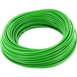 Spojovací drát BELI-BECO 1 x 0.20 mm², vnější Ø 0.50 mm, zelená, 10 m